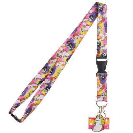 He-Man Colorful Meme Lanyard