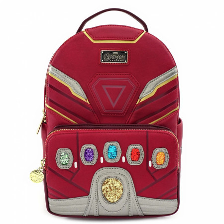 I Am Iron Man Hero Gauntlet Mini Backpack