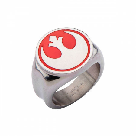 Star Wars Red Rebel Alliance Symbol Ring