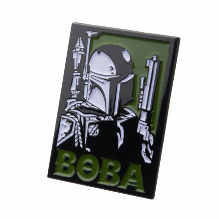 Star Wars Boba Fett Enamel Pin