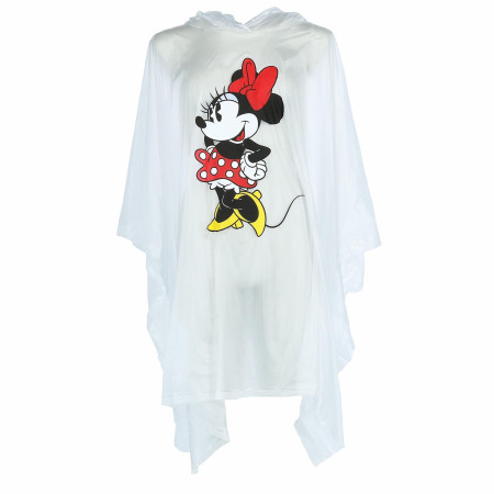 Minnie Mouse Clear Adult Poncho