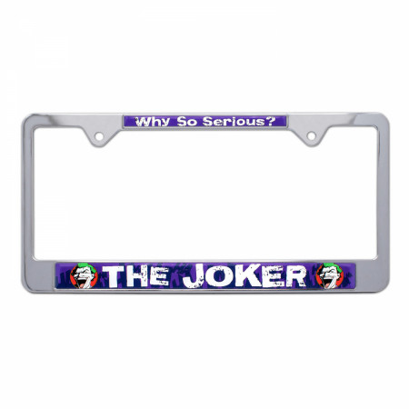 Joker License Plate Frame