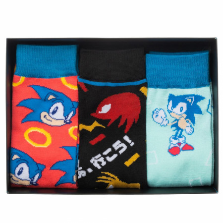 Sega Console 3-Pair Crew Socks Box Set