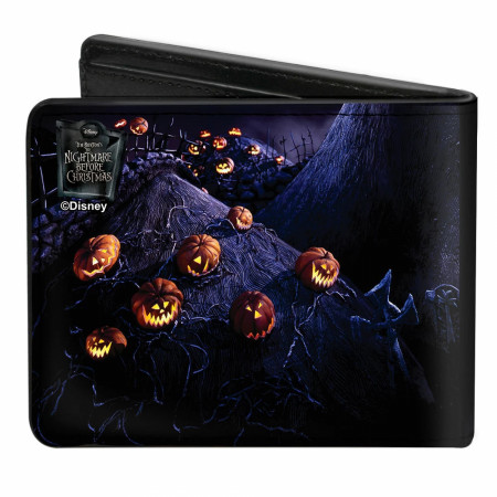 Nightmare Before Christmas Wallet |Slot Nightmare Before Christmas