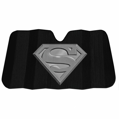 Superman Windshield Car Visor Sunshade