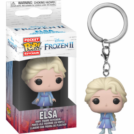 Elsa from Disney: Frozen 2 Funko Pop! Keychain