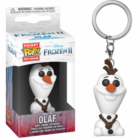Olaf from Disney: Frozen 2 Funko Pop! Keychain