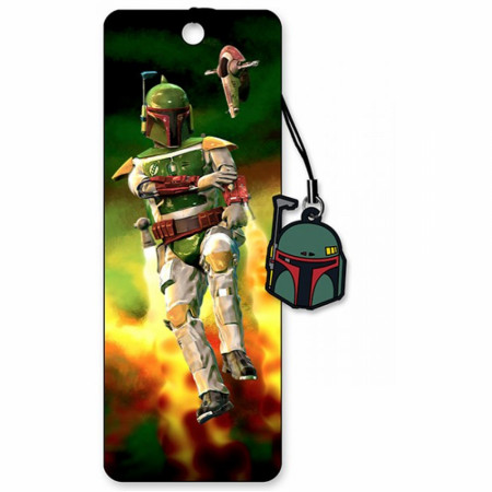 Boba Fett 3D Moving Image Bookmark