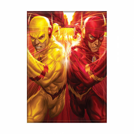 The Flash Flashpoint Photo Magnet