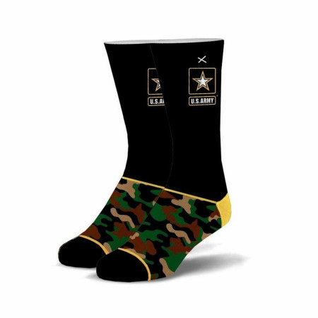 US Army Camo Black Socks