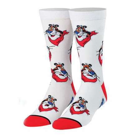 Frosted Flakes Tony The Tiger Cereal Socks