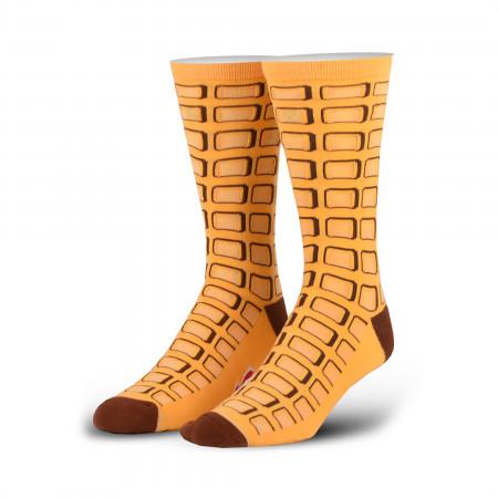 Eggo Waffles Socks