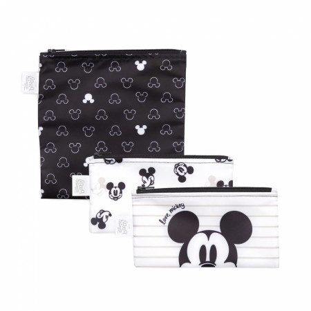 Disney Mickey Mouse 3 Pack Snack Bag