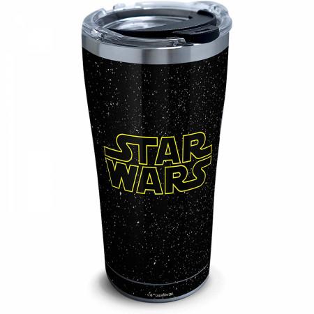 Star Wars Classic Logo 20 Ounce Stainless Steel Travel Mug