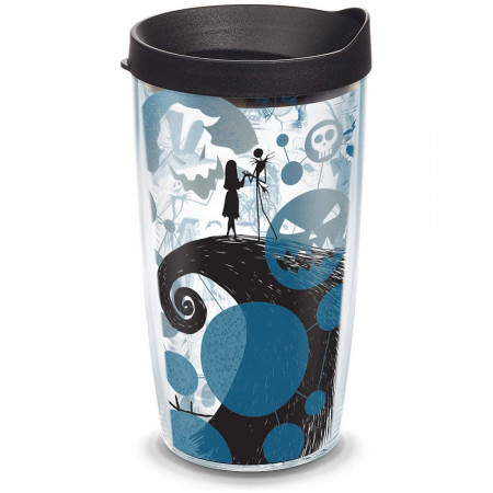 Nightmare Before Christmas 16 Ounce Plastic Tumbler