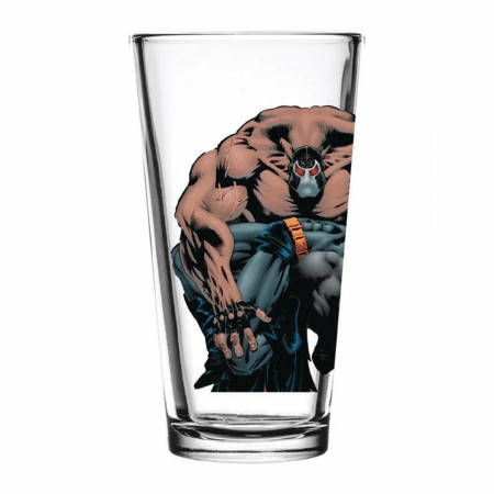 Batman KnightFall Number 11 Bane Pint Glass