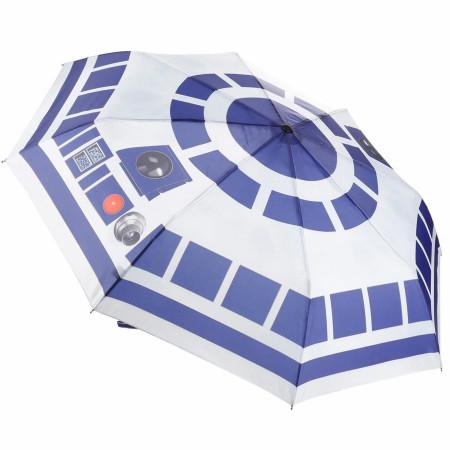 Star Wars R2-D2 Sublimated Print Umbrella