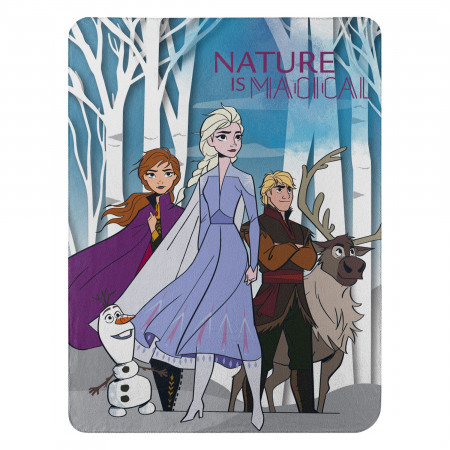 Disney Frozen 2 Throw Blanket