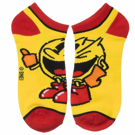 Pac-Man 5 Pair Ankle Socks Pack