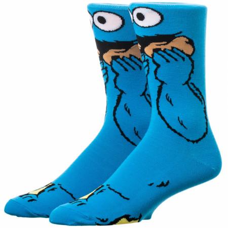 Cookie Monster 360 Character Crew Socks