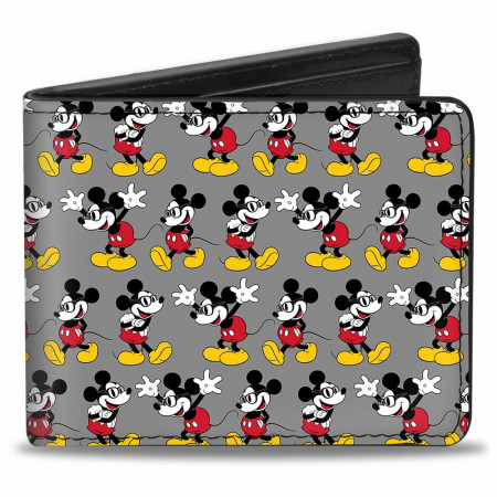 Disney Mickey Mouse Nerdy Bi Fold Wallet