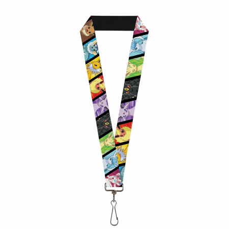Pokemon Eevee Evolution Lanyard