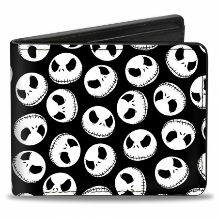 Nightmare Before Christmas Jack Skull Wallet