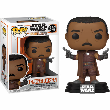 Star Wars Mandalorian Greef Karga Funko Pop!