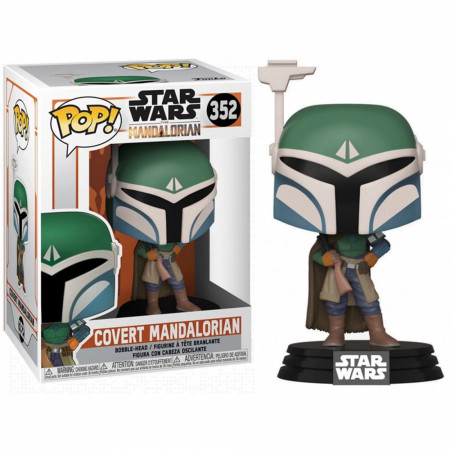 Star Wars Mandalorian Covert Mandalorian Funko Pop!