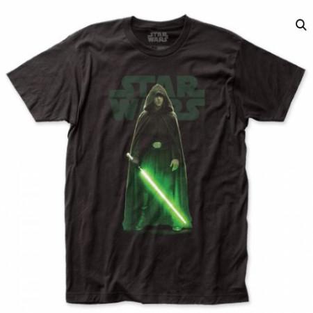 Star Wars The Mandalorian Classic Luke Skywalker w/ Lightsaber T-Shirt