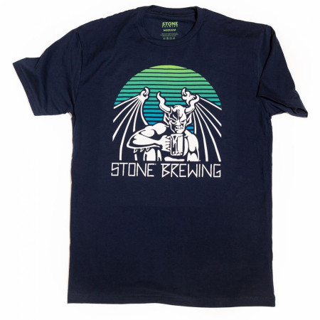 Stone Brewing Co. Men's Navy Blue Archetype T-Shirt