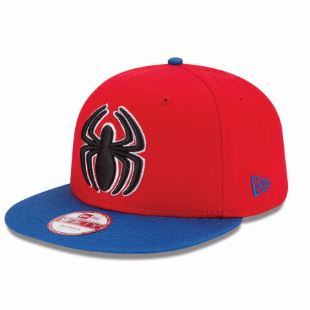 "Spider-Man Symbol with ""Amazing"" Patch New Era 9Fifty Adjustable Hat"