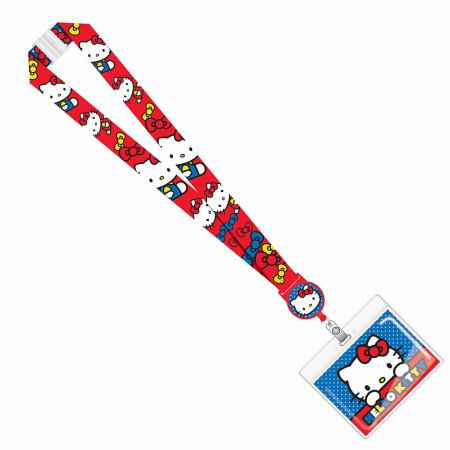 Hello Kitty ID Badge Lanyard