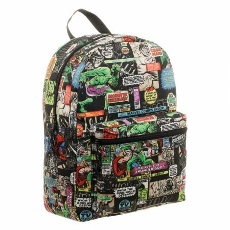 Marvel Comic Print Backpack