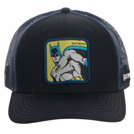 Batman Patch Trucker Hat