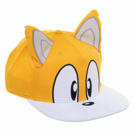 Sonic The Hedgehog Tails Big Face Hat