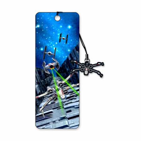Star Wars Trench Run 3D Moving Bookmark