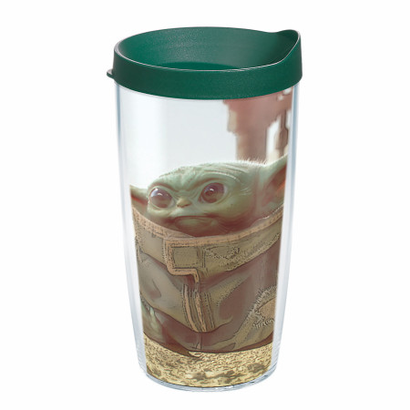The Mandalorian The Child Scene Tervis® Plastic 16 oz Tumbler