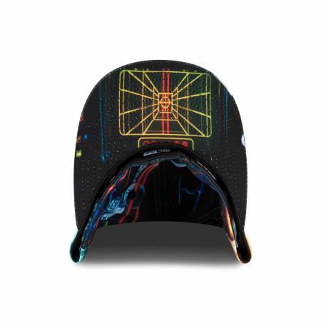 Star Wars Episode 4 Death Star Battle Scene New Era 59Fifty Fitted Hat