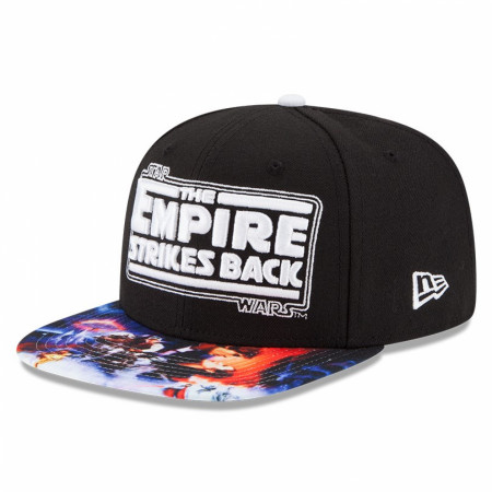 Star Wars Empire Strikes Back Sublimated Bill New Era 9Fifty Hat