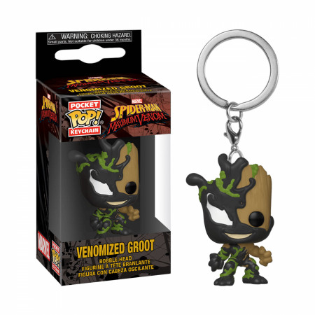 Venom and Groot Mashup Funko Pop! Keychain