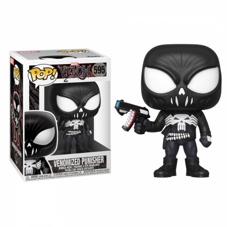 Venom and Punisher Mashup Funko Pop!