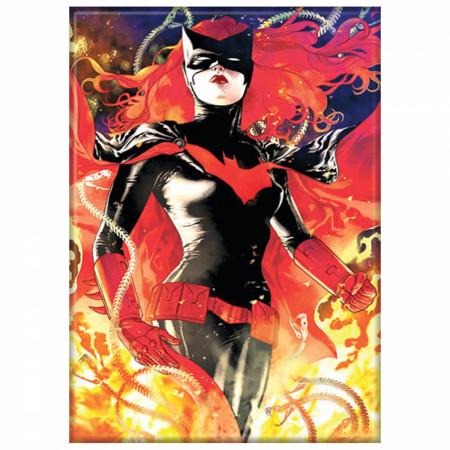 Batwoman Flames Magnet
