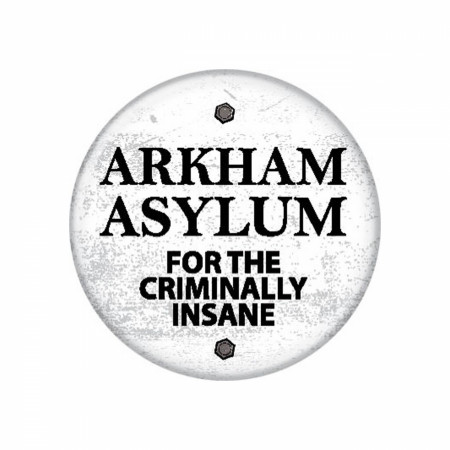 Batman Arkham Asylum 1.25 Inch Button