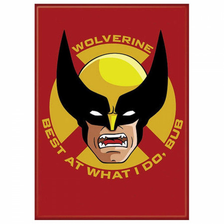 Wolverine Face 2.5 Inch Magnet