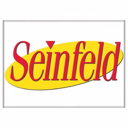 Seinfeld Logo 2.5 Inch Magnet