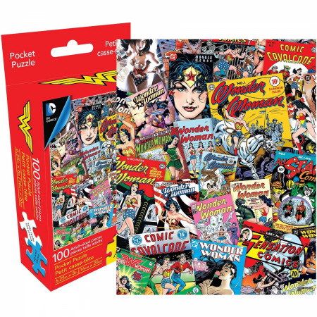 Wonder Woman 100pc Adult Pocket Puzzle