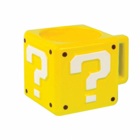 Nintendo Super Mario Power Up Box Mug