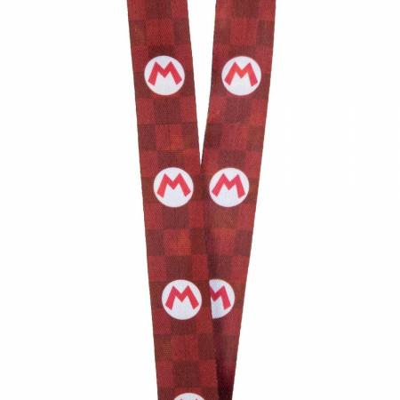 Super Mario Bros. Nintendo Icons Lanyard