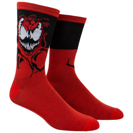 Venom and Carnage Crew Socks 2-Pair Pack